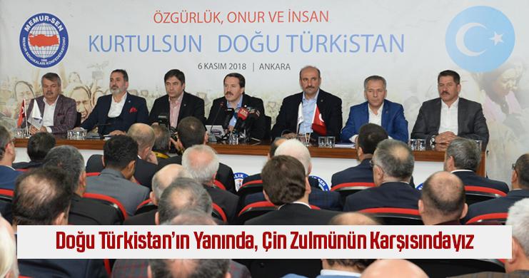81 İLDEN ÇİN'İN İNSAN HAKLARI İHLALLERİNE TEPKİ
